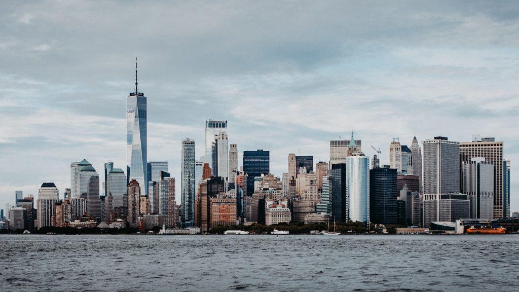 Stress abbauen - Bild von Großstadt