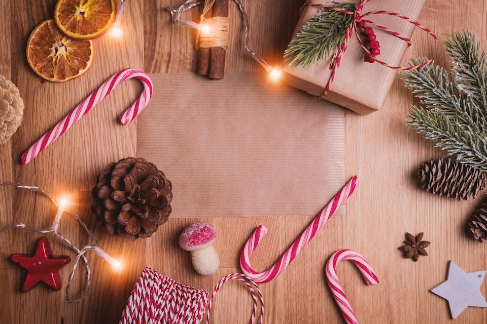Bild von Weihnachtsgeschenken - Perfektionismus ablegen