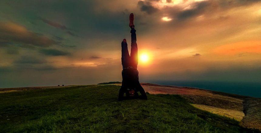 Weniger arbeiten mehr leben - Bild von Sonnenuntergang